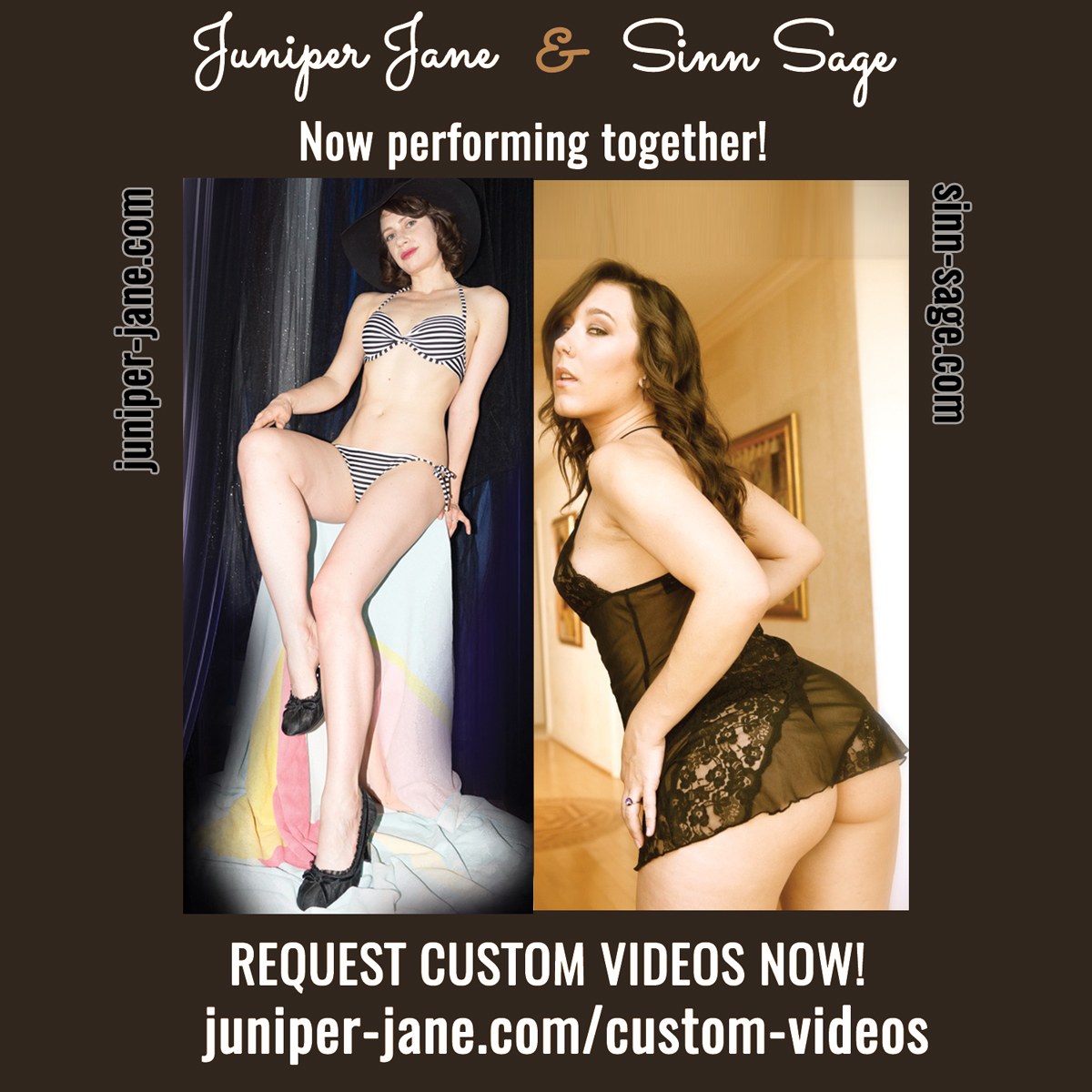 Juniper Jane now performing with Sinn Sage