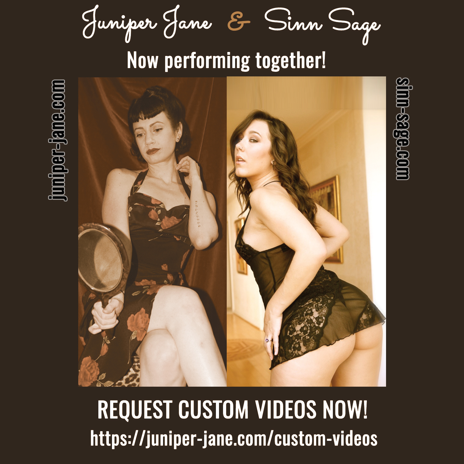 Juniper Jane now Performing Sinn Sage | Request Custom Videos Now
