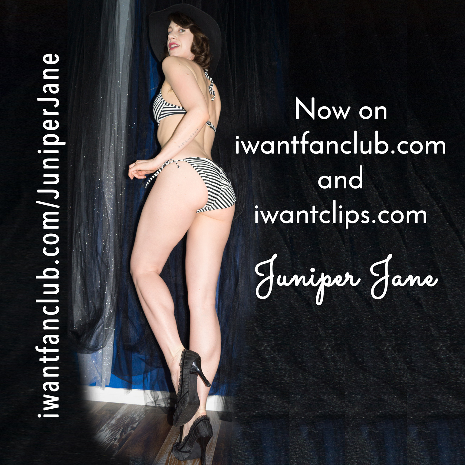 Juniper Jane is now on Iwantclips and iwantfanclub!
